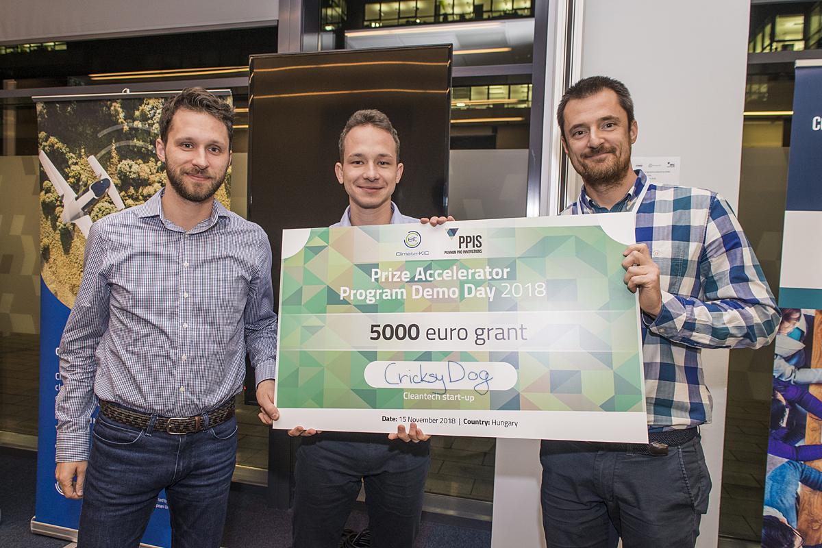 CricksyDog grant nyereménye a novemberi DemoDay-en