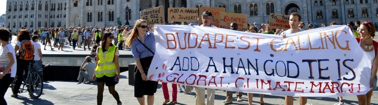 Climate March Budapest