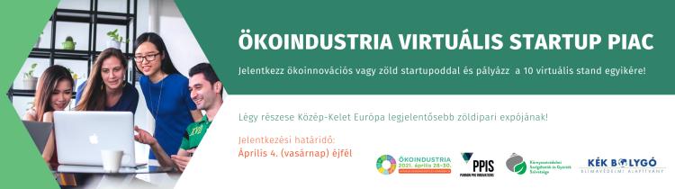 ÖKOINDUSTRIA - Virtuális Startup Piac
