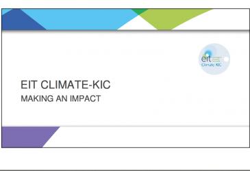 Új Klímagazdaság Konferencia - Bertrand van Ee előadása
