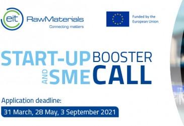EIT Raw Materials startup programok