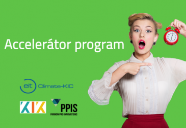 Climate-KIC Accelerator program start-up-ok részére